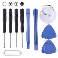 10in1 Reparatur Tool Kit Profi Reparatur Werkzeug Set Schraubendreher Reparatur Öffnung Werkzeug Set  Zerlegen Reparatur Werkzeug Set Tool Kit für Apple iPhone XS Max XS XR X 8 8+ 7 7+ SE 6 6+ 6S 6S+ 5 5S 5C 4 4S 3G 3GS