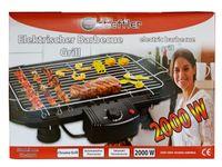Scheffler Elektrischer Barbecue Grill 2000W Garten Balkon Camping Tischgrill