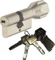 ABUS EC550 Knaufzylinder Länge Z50/K45mm (c=95mm) mit 8 Schlüssel, SKG** Bohrschutz