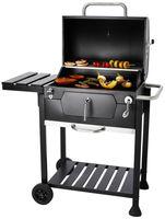 Countryside®  Let's BBQ Grillwagen Grillfläche 56,5 x 42 cm, mit Warmhalterost und integriertem Thermometer