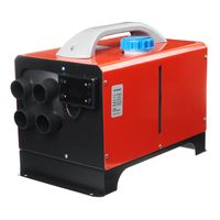 8KW 12V Integration Standheizung LCD Diesel Heizung PKW Air Heater ALL IN ONE