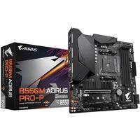 Gigabyte B550M AORUS PRO-P - AMD - Socket AM4 - AMD Ryzen 3 - AMD Ryzen 5 - AMD Ryzen 7 - 3rd Genera