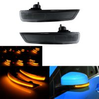 2x LED Dynamische Außenspiegel Spiegelblinker für Ford Focus 2 3 MK2 MK3 Mondeo MK4