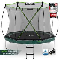 KINETIC SPORTS Federloses Trampolin 'Bungee Safety Elite' für Kinder und Erwachsene |  | Designed in Germany | Gartentrampolin mit AirMAXX Technologie | 244 305 366 cm