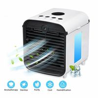 Tragbares Klimaanlage 12V Haus & Auto Kühlkörper Eis Klimaanlage