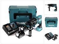 Makita DHR 182 RFJ Akku Bohrhammer 18V 1,7J SDS plus Brushless + 2x Akku 3,0Ah + Ladegerät + Makpac