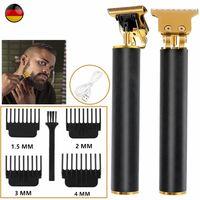 So-Goods Profi Haarschneidemaschine Haarschneider Bart Trimmer Rasierer Hair Clipper USB,mit 4 x Begrenzungskamm,1 * Reinigungsbürste,1 * USB-Ladekabel