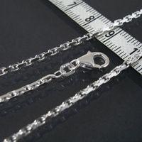 Ankerkette Silber 925 Halskette 2,5 mm 45-60 cm echt Sterlingsilber ka25