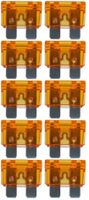 baytronic 10x Kfz-Flachstecksicherung Standard orange 40A