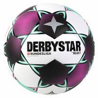 DERBYSTAR Fußball Brillant Replica Weiß/Magenta/Mint 5