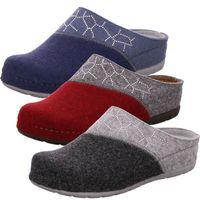Rohde Damen Pantoffeln Softfilz Hausschuhe Rodigo-40 6030, Größe:38 EU, Farbe:Grau
