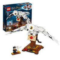 LEGO 75979 Harry Potter Hedwig mit beweglichen Flügeln, Schaustück für Sammler, Bauset