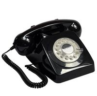 gpo 746 Telephone - Retro Desk Phone with Fully Working Rotary Dial