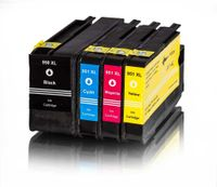 Merotoner® 5x Druckerpatrone Kompatibel zu HP 950XL 950 XL 951XL 951 XL kompatibel (2x Schwarz , Cyan ,Magenta , Gelb) …