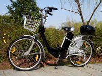 """Elektrofahrrad 250W / 36V E-Bike 26"""" Pedelec Fahrrad mit Motor Citybike Elektro City Fahrrad 250 Watt 26 Zoll - schwarz"""