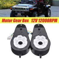 2x Antriebsmotor Getriebe 12000RMP Kinderfahrzeug Kinderauto Elektro Spielzeug