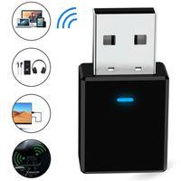 2in1 Bluetooth 5.0 Adapter Transmitter und Empfänger Receiver Sender High Speed für TV PC Laptop Desktop Computer Auto Audio