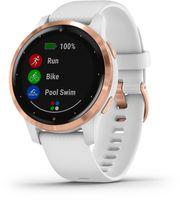 Garmin 010-02172-22 vivoactive 4s GPS Fitness-Smartwatch Weiß/Roségold
