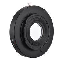 PK-AI Lens Mount Adapterring mit optischem Glas fuer Pentax K Mount Objektiv passend fuer Nikon AI F Mount Kameragehaeuse Focus Infinity