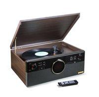 Technaxx TX-137 Mikroanlage mit DAB+, Bluetooth, Plattenspieler
