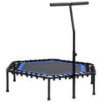 【Modernen Design】Trampoline Sports Fitness Fitness mit Griff 122 cm Hochwertiger Möbel|Spielzeuge,Spiele|Spielzeug für draußen|Trampoline♔2179