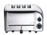 DUALIT 4 Slot Toaster 'NewGen' Edelstahl