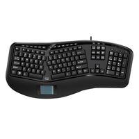 Adesso Tru-Form 450 Ergonomische Touchpad-Tastatur