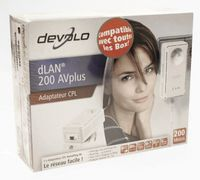 Devolo dLAN 200 AVplus Powerline HomePlug AV Adapter NEU #R1-A11