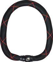Abus Kettenschloss Ivy Chain 9210 Schwarz/Rot 110Cm
