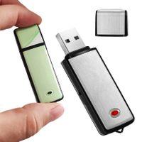 Diktiergerät 8GB USB Mini Tragbar Aufnahmegerät Recorder MP3 Sprachaufnahme DP-1
