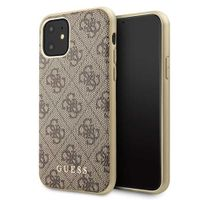 Guess - Charms - 4G - Apple iPhone 11 - Braun - Hard cover