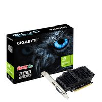 Gigabyte GV-N710D5SL-2GL, GeForce GT 710, 2 GB, GDDR5, 64 Bit, 4096 x 2160 Pixel, PCI Express 2.0