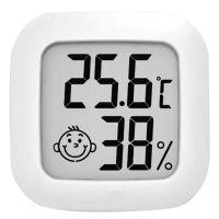Digitales Hygrometer-Thermometer Innenfeuchtemessgeraet Mini-Raumthermometer mit Feuchtigkeits- und Temperaturue berwachung Genaue Feuchtigkeitsanzeige fue r die Home Greenhouse Office School