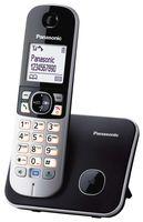 Panasonic KX-TG 6811 Strahlungsarmes Schnurlostelefon, Rufnummernanzeige, 18h Sprechzeit, 7 Tage Standby, Freisprechfunktion, DECT