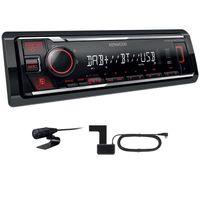 KENWOOD KMM-BT407DAB Digitalradio USB Bluetooth MP3 inkl DAB Antenne Autoradio