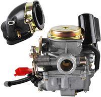SPEED 18mm Roller Vergaser und Ansaugstutzen für Rex RS 400/RS 450/RS 460/GY6 50cc/GY6 60cc