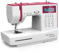 Bernette Sew&GO8 Computer-Nähmaschine mit 197 Nähprogramme, Freiarm, Multifunktionsdisplay, Nähen, Patchen, Quilten
