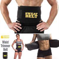 Brandneuer Gewichtsverlust Fettverbrennung Sportgürtel Schwitzen Taille Abnehmen Gerät Gürtel Gewickelt Bauch Gewichtsverlust Körperformungsgürtel