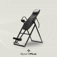 SportPlus Inversionsbank, Schwerkrafttrainer klappbar, Inversionstisch für zuhause, Rückentrainer