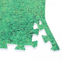 Schutzmatten Endstücke Grasoptik