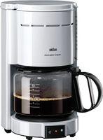 Braun Kaffeeautomat Weiss     Kf47/1