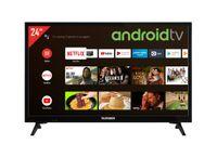 Telefunken XH24AJ600V 24 Zoll Fernseher / Android TV (HD-ready, HDR, 12 Volt, Triple-Tuner, Smart TV, Bluetooth)