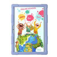 Kinder Tablet SMART TabbyBoo® EduLearn 10.1 Zoll QuadCore 2GB DDR3 RAM 32GB ROM 3G dual SIM, ideal für Vorschulkinder und Schüler, lila