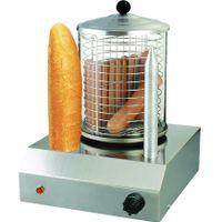 Syntrox Chef Maker HDM-2 Hot Dog Maker mit 2 Spießen Würstchenwärmer Bockwurstwärmer