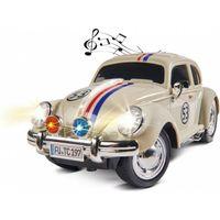 Carson 1:14 VW Käfer Rally 53 RC Modellauto (2.4GHz, 1:14, ab 14 Jahren, Weiß)