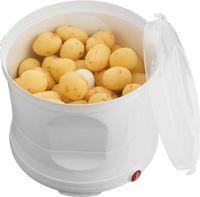 Melissa 16220007 Kartoffelschälmaschine - Elektrischer Kartoffelschäler mit Edelstahlreibe