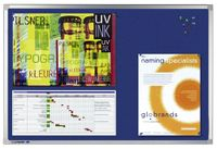 Legamaster PROFESSIONAL Pinboard, 100 x 150 cm, blaue Textilbespannung