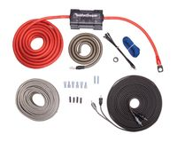 ROCKFORD FOSGATE KABELKIT 4 AWG RFK4X Installation Kabel Set Dual Verstärker, RFK4X