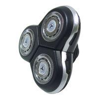 Scherkopf Rasierkopf Ersatzscherkopf mit Schutzkappe Abdeckung ersetzt Philips Arcitec SensoTouch 3D Shaver RQ12 RQ12/70 RQ10 RQ12 RQ12+ RQ12/62 für Arcitec RQ1050 RQ1250 RQ1051 RQ1052 RQ1053
