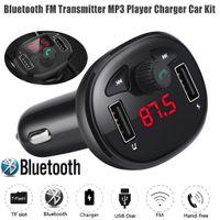 Bluetooth Auto USB Ladeger?t FM Transmitter Wireless Radio Adapter MP3 Player
